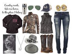 """""""Yeti"""" by im-a-jeans-and-boots-kinda-girl ❤ liked on Polyvore featuring Ray-Ban, Patagonia, WALL, Top of the World, Icebreaker, GUESS, Ariat, Icon Brand and country"""