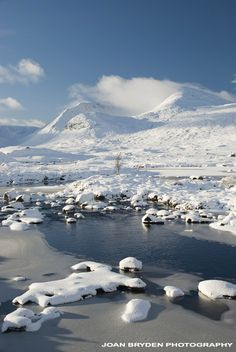 Black Mount, Rannoch Moor, Scottish Highlands