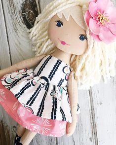 Handmade Doll by SpunCandy See this Instagram photo by @spuncandydolls •