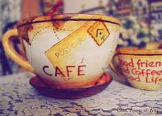 Hand Painted Coffee Cup