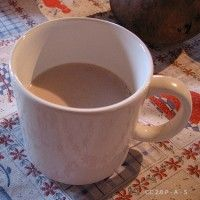 low carb, hot chocolate-like concoction