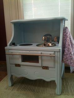 Quinn's play kitchen