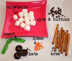 Gourmet Mom on-the-Go: Mixed Up Snowman Snacks