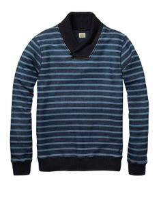 French Farmer Sweater  gt  Mens Clothing  gt  Sweaters at Scotch  amp  Soda  Sweater ee4eee674bef6