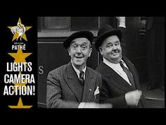 Brilliant old newsreel featuring Laurel & Hardy upon their visits to Britain.