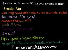 Question for the Seven