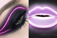 nice make up Bright Eye Makeup, Eye Makeup Art, Blue Eye Makeup, Diy Makeup, Makeup Inspo, Makeup Inspiration, Makeup Tips, Sexy Make-up, Extreme Makeup