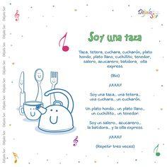 Preschool Spanish, Preschool Songs, Spanish Activities, Spanish Classroom, Preschool Lessons, Teaching Spanish, Songs For Toddlers, Kids Songs, Spanish Songs