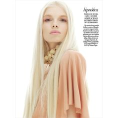 Morgane Warnier by Matthew Scrivens for Vogue Mexico March 2013 ❤ liked on Polyvore