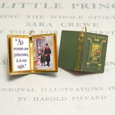 A Little Princess by Frances Hodgson by VintageCharmedBooks