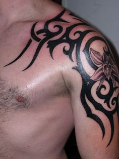 Creative Design Tatoo: Japanese Tribal Tattoos Fonts Designs For Men 2012