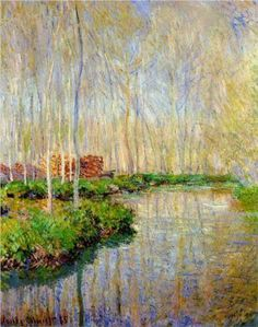 The River Epte - Claude Monet