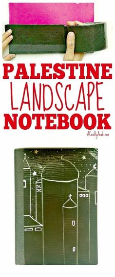 Make your notebooks distinctive by decorating their covers with Arabic world images like Palestinian landscapes including moons and crosses. Moon Projects, Projects For Kids, Crafts For Kids, Art Projects, Writing Resources, Writing Tips, Text To Text Connections, To My Daughter, Daughters