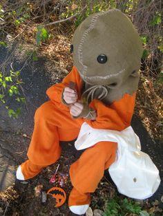 "DIY ""Sam"" from the movie 'Trick 'r Treat' Costume"