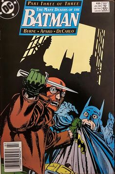 Chris is on Infinite Earths: Batman #435 (1989)