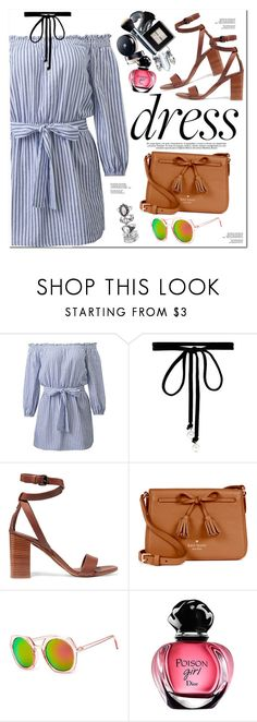 """""""Dreamy Dresses"""" by oshint ❤ liked on Polyvore featuring Joomi Lim, Vince and Kate Spade"""