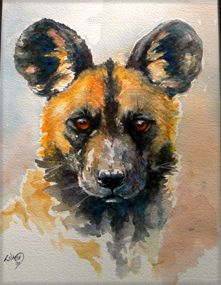 Lesley D McKenzie animal paintings