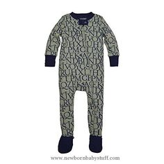 "Baby Boy Clothes Burt's Bees Baby Baby Organic Zip Front Sleeper, Starry Night a ""Bee"" C, 6-9 Months"