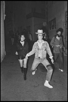 Yoko Ono et John Lennon.
