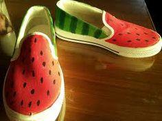 zapatillas pintadas - Buscar con Google