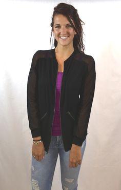 Michael Stars Zip Up Jacket