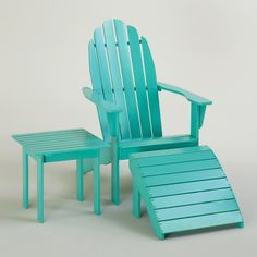 Seating and Lounge-Outdoor Furniture-Outdoor   World Market ~ Love he color and how ironic, I only heard about World Market today in a magazine and now I am seeing their products in post.