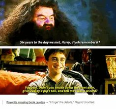 """11 Missing Lines That Should Have Been In The """"Harry Potter"""" Movies Really it's ALL of them but I guess there is something about a time limit in the movie industry, no matter how brilliant? Hm, whatevs."""