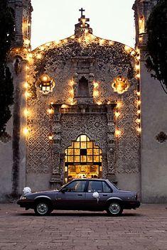 Mexico, Mexico City, Wedding, Capilla de la Concepcion, Coyoacan