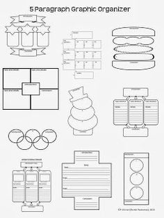Free!!!!  Lots of graphic organizers!  Great for narrative, argumentative, and informative writing!