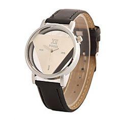 Damen+Modeuhr+Quartz+PU+Band+Schwarz+Weiß+Weiß+Schwarz+Weiß/Schwarz+–+EUR+€+5.87 Cheap Watches, Men's Watches, Luxury Watches For Men, Retro, Quartz Watch, Vintage Men, Skeleton, Pu Leather, Clock