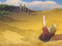 Swallowed by Sand: A Young Boy Survives After Vanishing Into the Earth