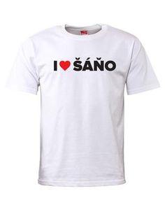 Pánské tričko ZOOT I ♥ ŠÁŇO 1