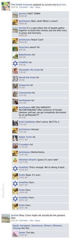 Facebook News Feed History of the World part 2