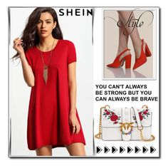 """""""SheIn 2 / XV"""" by selmamehic ❤ liked on Polyvore"""