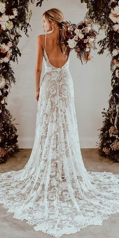10 Best Wedding Dress Designers For 2017 ❤ wedding dress designers lace straight spaghetti straps low back grace loves lace ❤ See more: http://www.weddingforward.com/wedding-dress-designers/ #wedding #bride