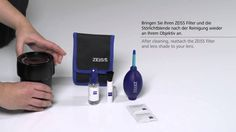 Carl Zeiss Lenses - High quality cleaning for optical surfaces