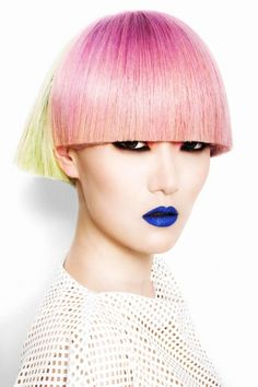 Colour 2014: Wella Trend Vision Finalists - Rokk Ebony