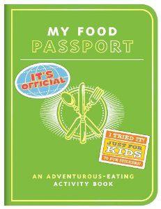 Knock Knock Kids My Food Passport - fun way to get kids to try new foods!