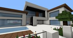 minecraft modern house - Google Search