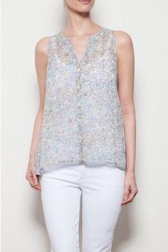 Gaubert Silk Top / $1,820