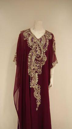 Very Fancy dubai Kaftan/Abaya/jalabiya ladies maxi by TORYSCLOSET, $179.99