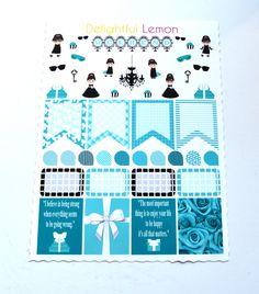Breakfast At Tiffanys Planner Stickers