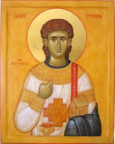 Saint Gregory of Sinai Monastery is an Eastern Orthodox men's community. The Monastery Icon Workshop specializes in egg tempera panel icons, fresco painting, and mosaics. Saint Gregory, Saint Stephen, Monastery Icons, Orthodox Christianity, All Icon, Orthodox Icons, Tarot, Mosaic, Disney Characters