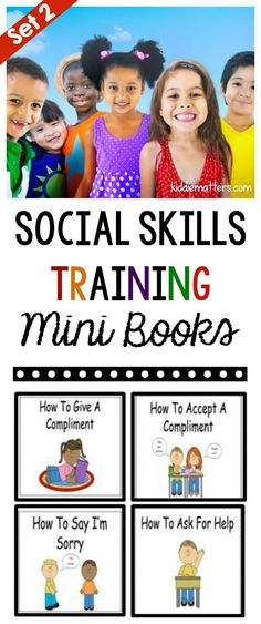 Teaching kids social skills is an important aspect of child development. These social skills books help kids learn how to practice specific social skills. These mini books are perfect for kids in elementary school and children on the autism spectrum. This resource can be used by counselors, parents, and teachers.