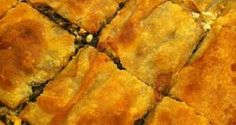Σπανακόπιτα με λίγη φέτα και πολλά μυρωδικά της Μάνης Spanakopita, Pizza, Ethnic Recipes, Food, Essen, Meals, Yemek, Eten