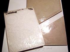 tips for embossing folders