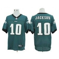 Nike DeSean Jackson Jersey Elite Team Color Green Philadelphia Eagles  10  Cardinals Jersey bb9db738d