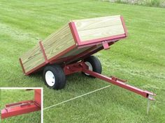 home tractor dump cart - Google Search