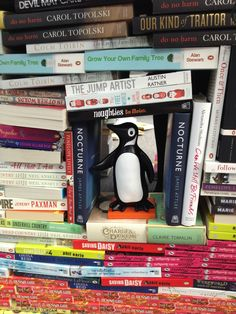If I stand here, I'll be able to see them coming... #PenguinFort