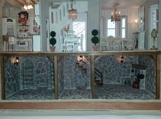 Basement is complete! - My First Dollhouse - Beacon Hill - Gallery - The Greenleaf Miniature Community